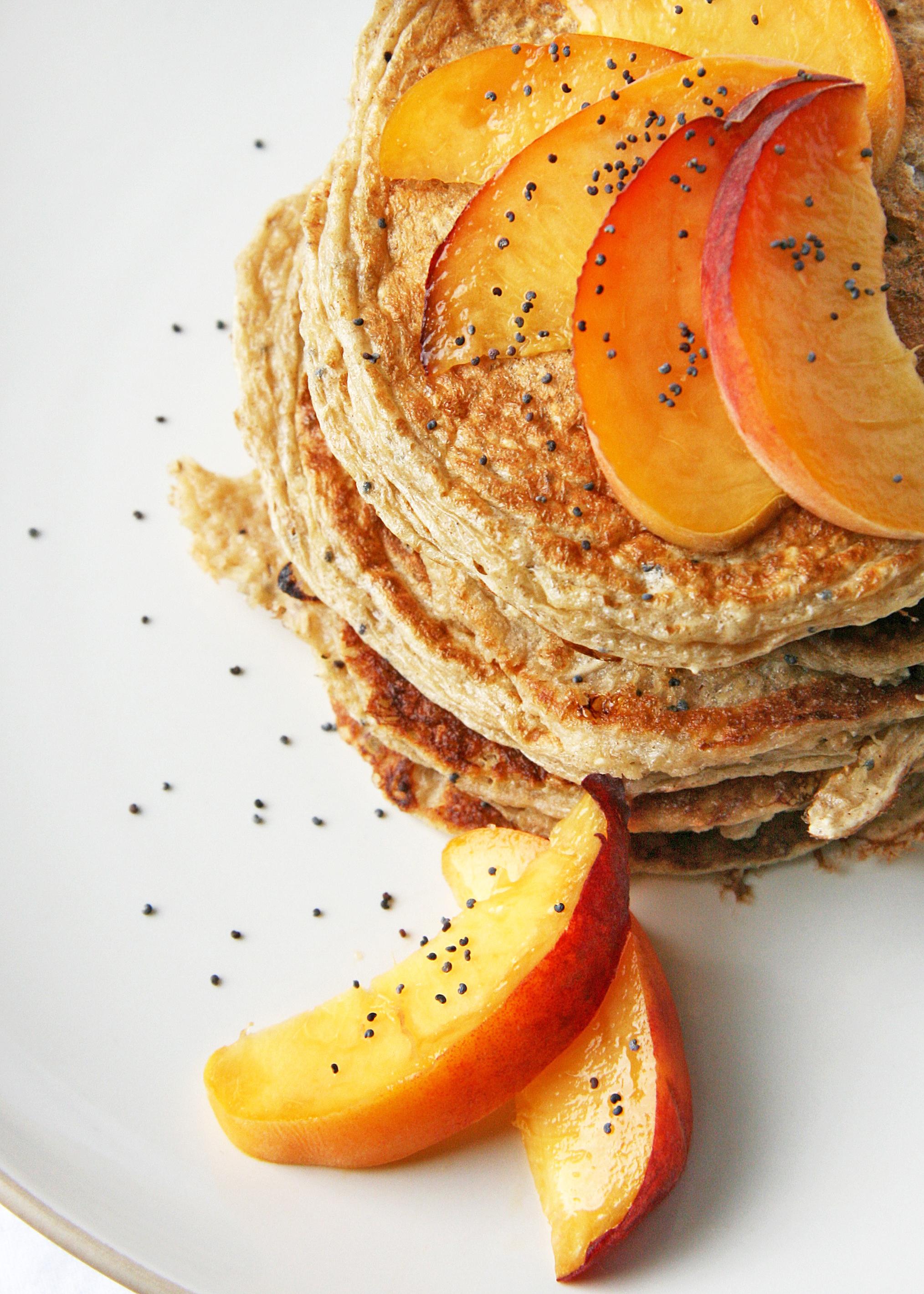Peach Poppyseed Pancakes3