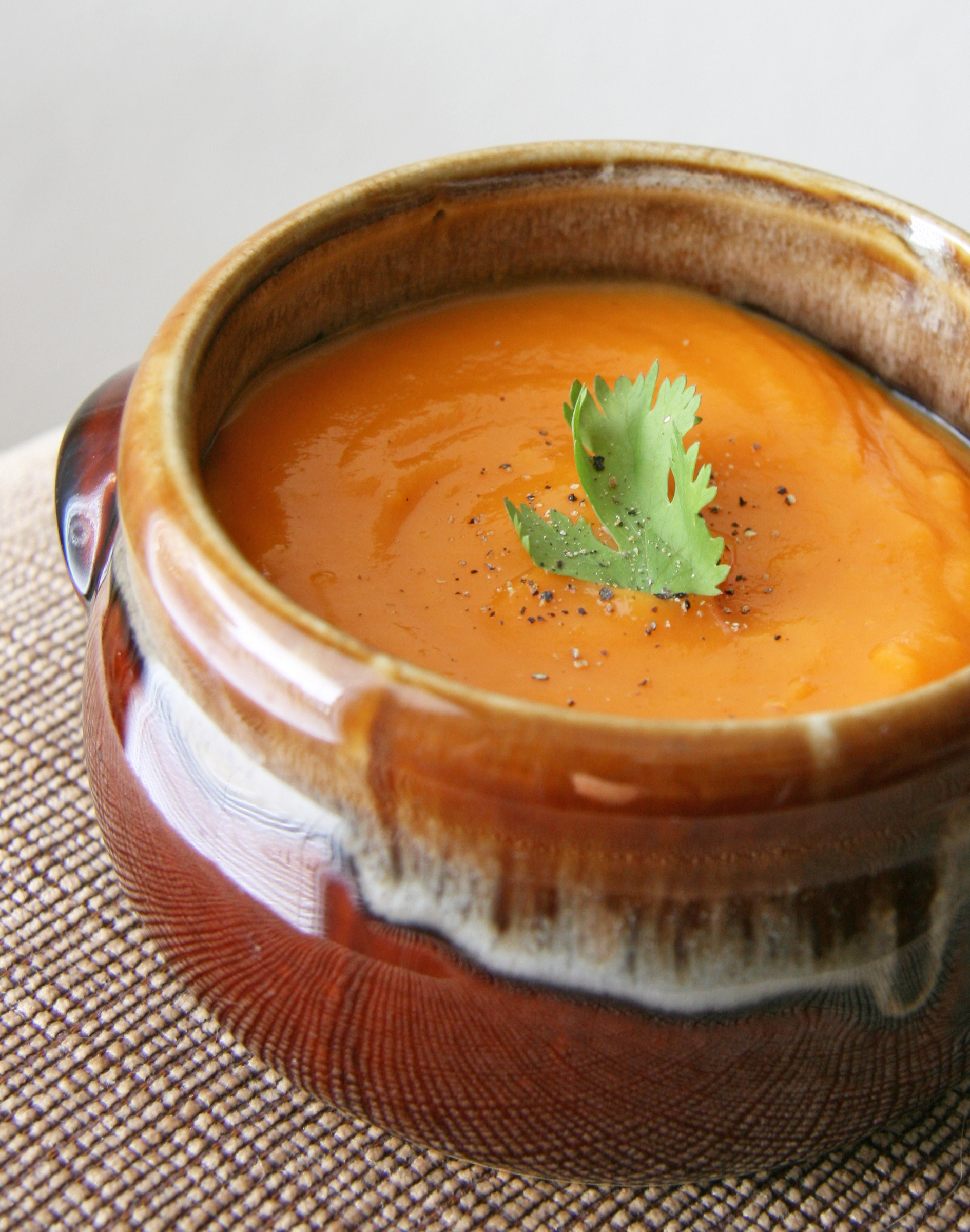 Yam, Apple And Carrot Soup With Ginger And Honey Recipes — Dishmaps