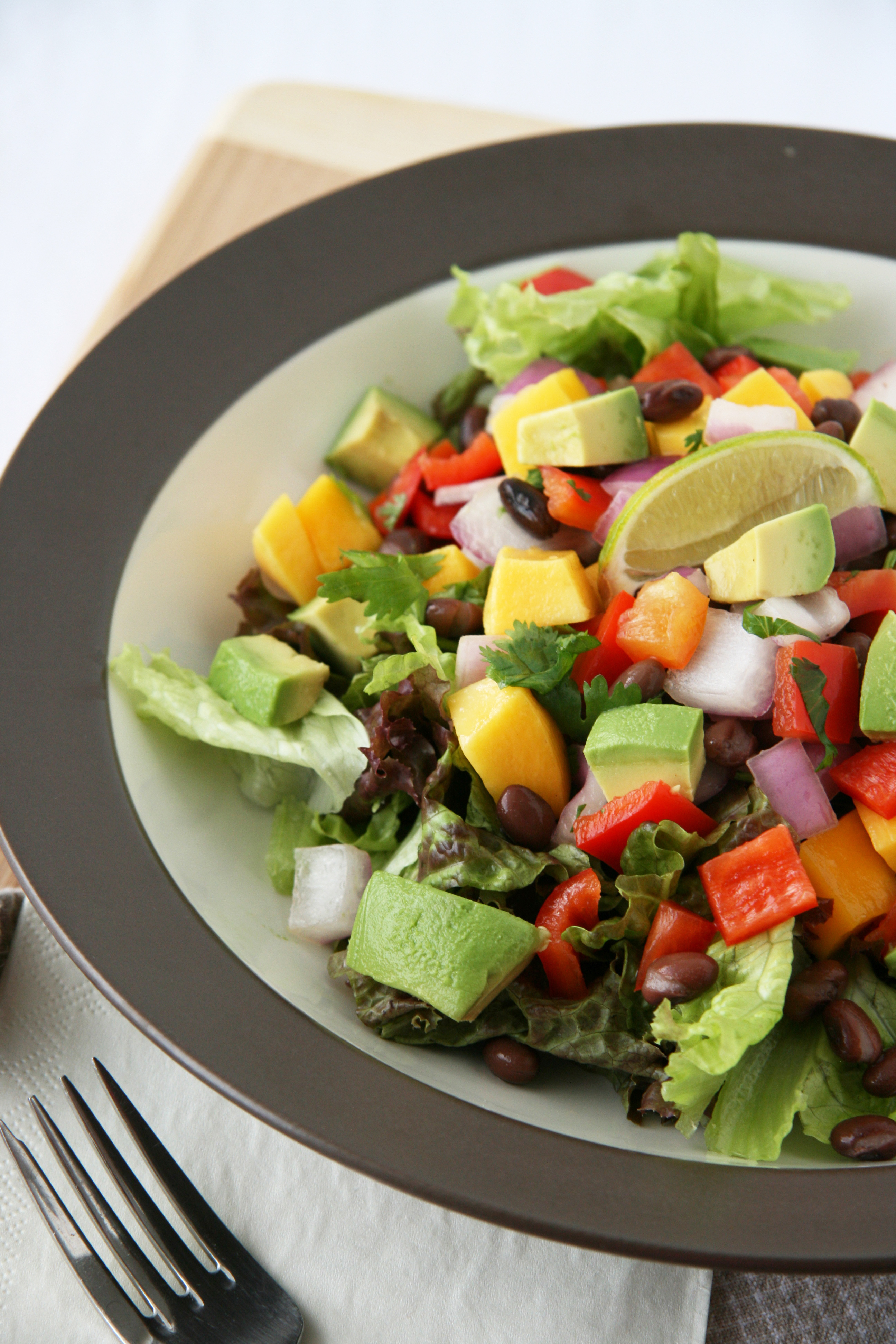 Chop-Chop Mango and Black Bean Salad