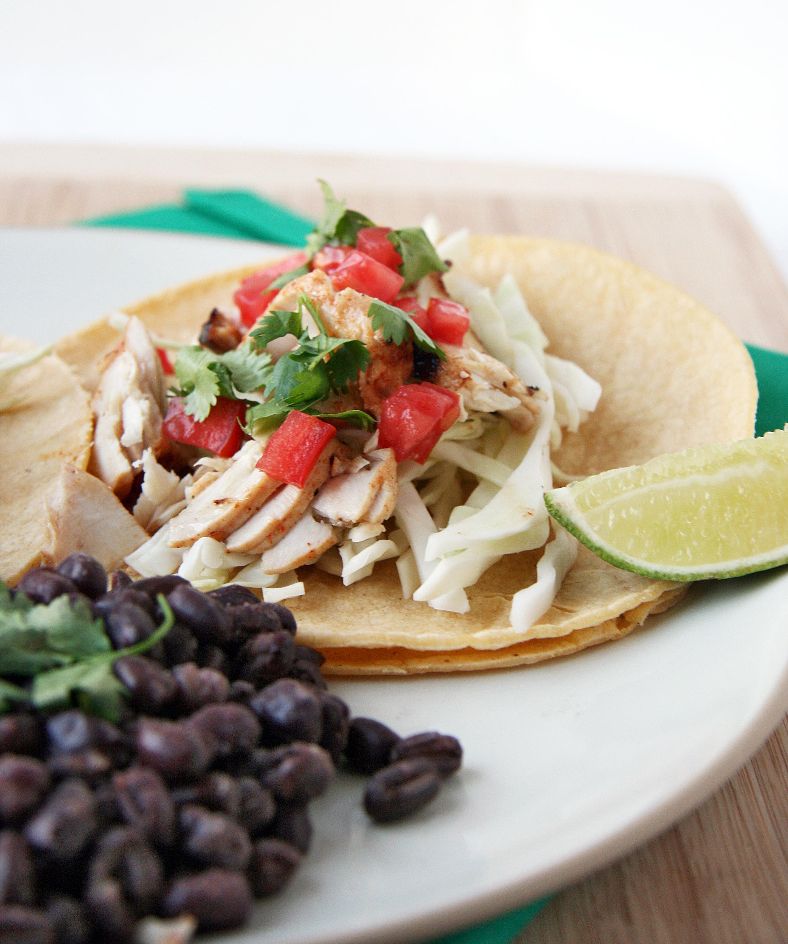 Grilled Fish Tacos | Natural Noshing