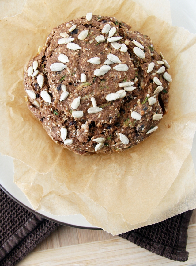 Zucchini Bread For One Or Two Natural Noshing