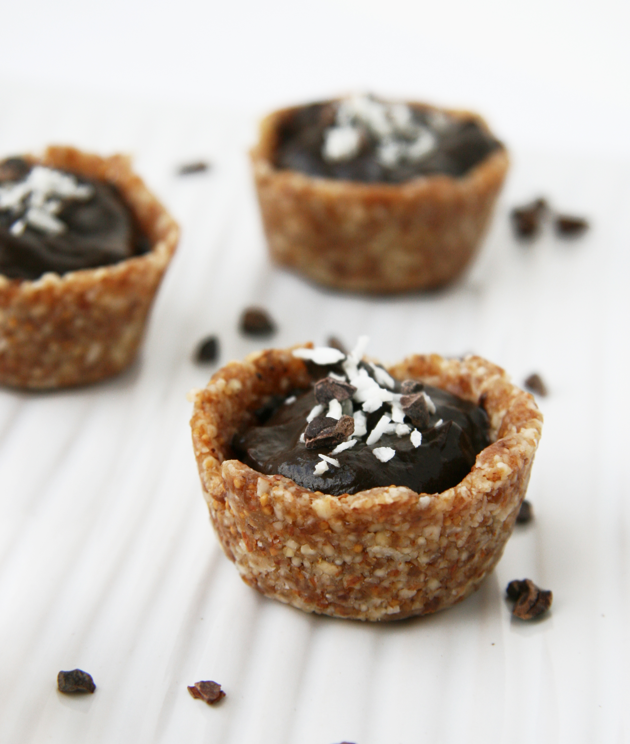 Mini Fig & White Chocolate Mascarpone Cream Tarts Recipes — Dishmaps
