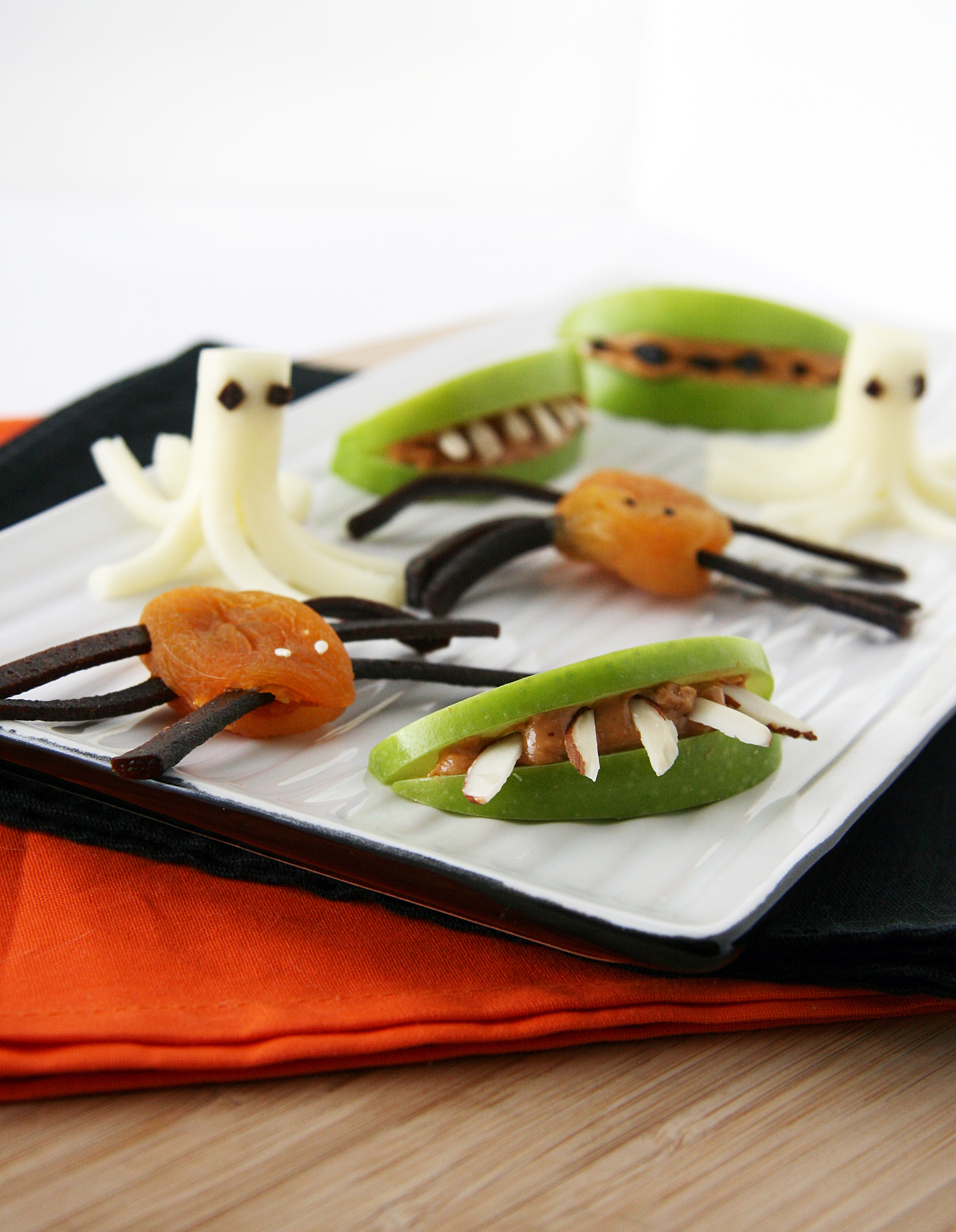 Easy and healthy halloween snacks natural noshing all three snacks forumfinder Choice Image