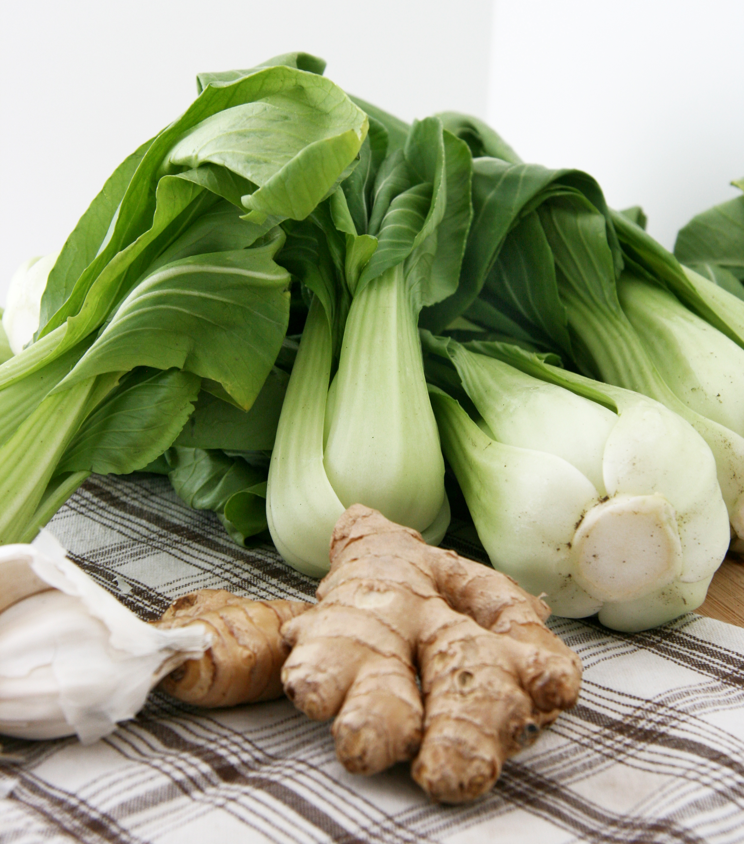 ... perfect pantry recipe for bok choy stir fry with ginger and garlic