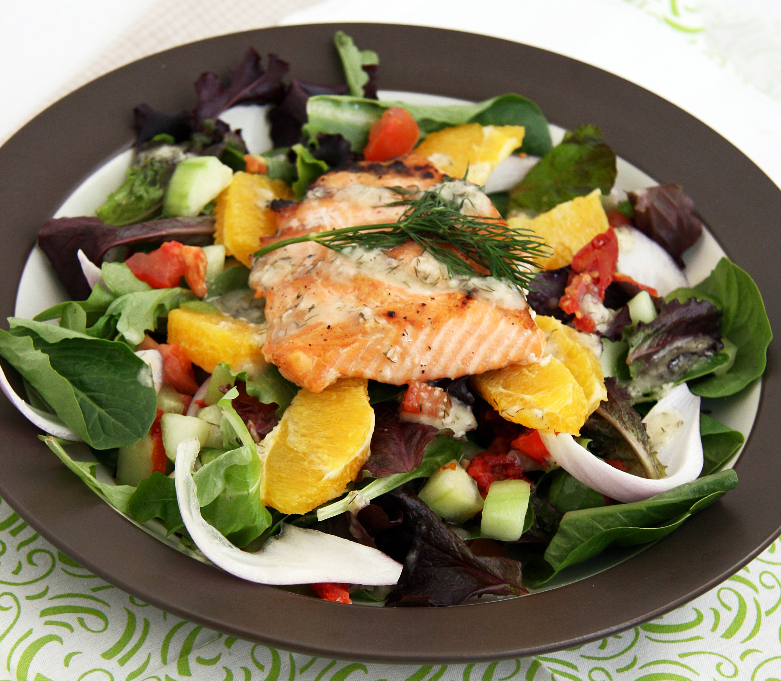 med salad salmon1