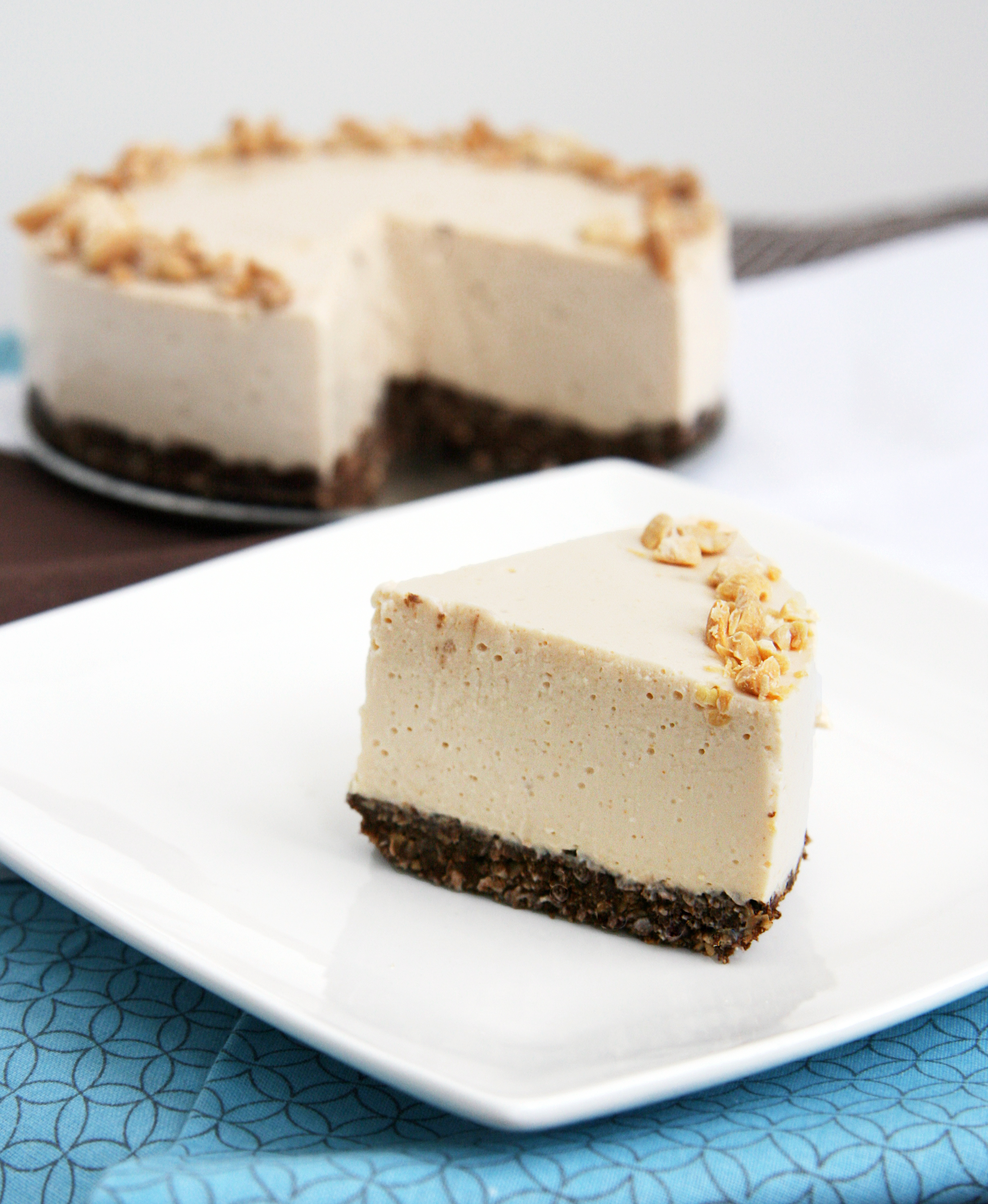 Peanut Butter Cottage Cheese Cake