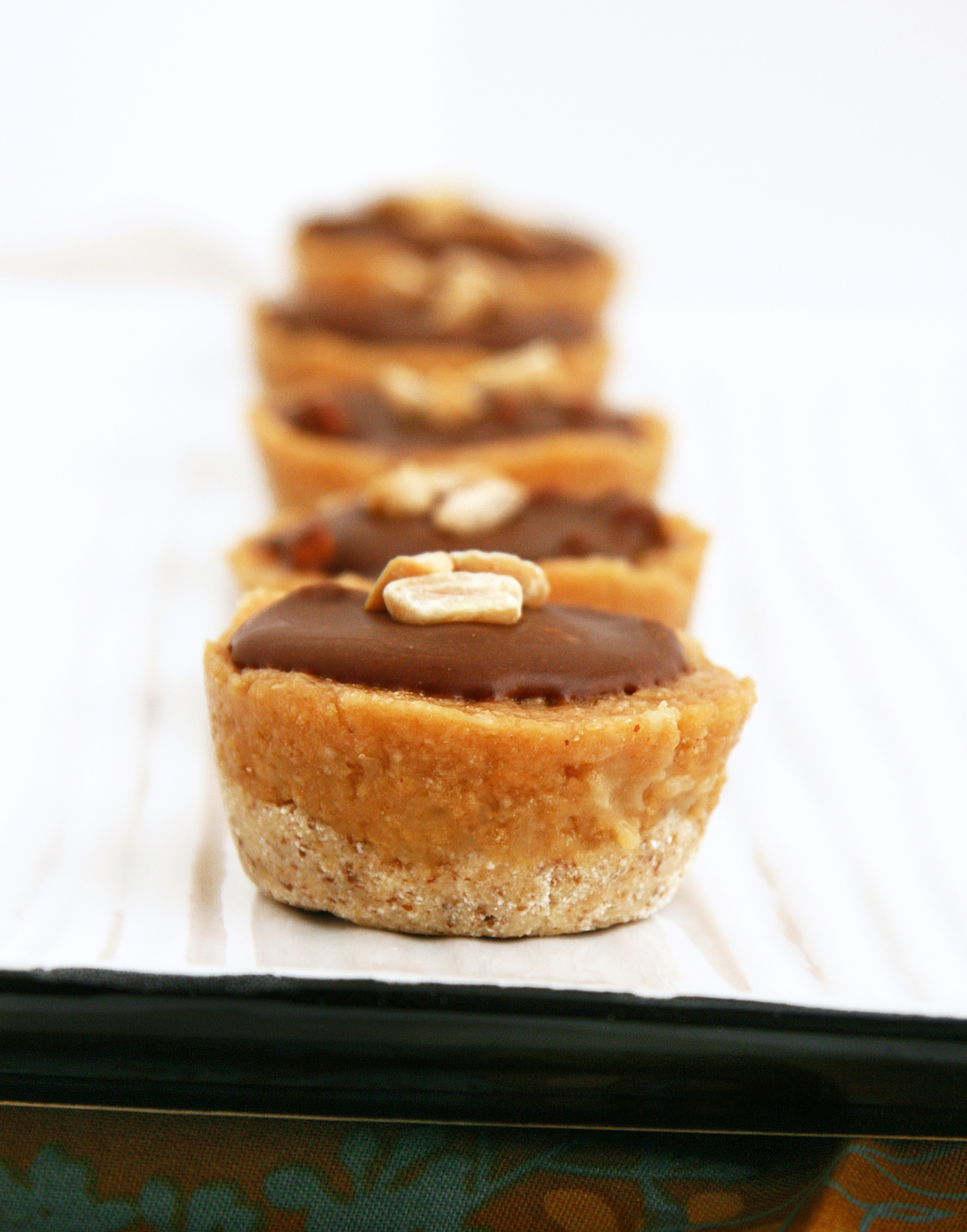 Teeny Weeny Healthy Chocolate, Ginger And Almond Butter Layered Cups ...
