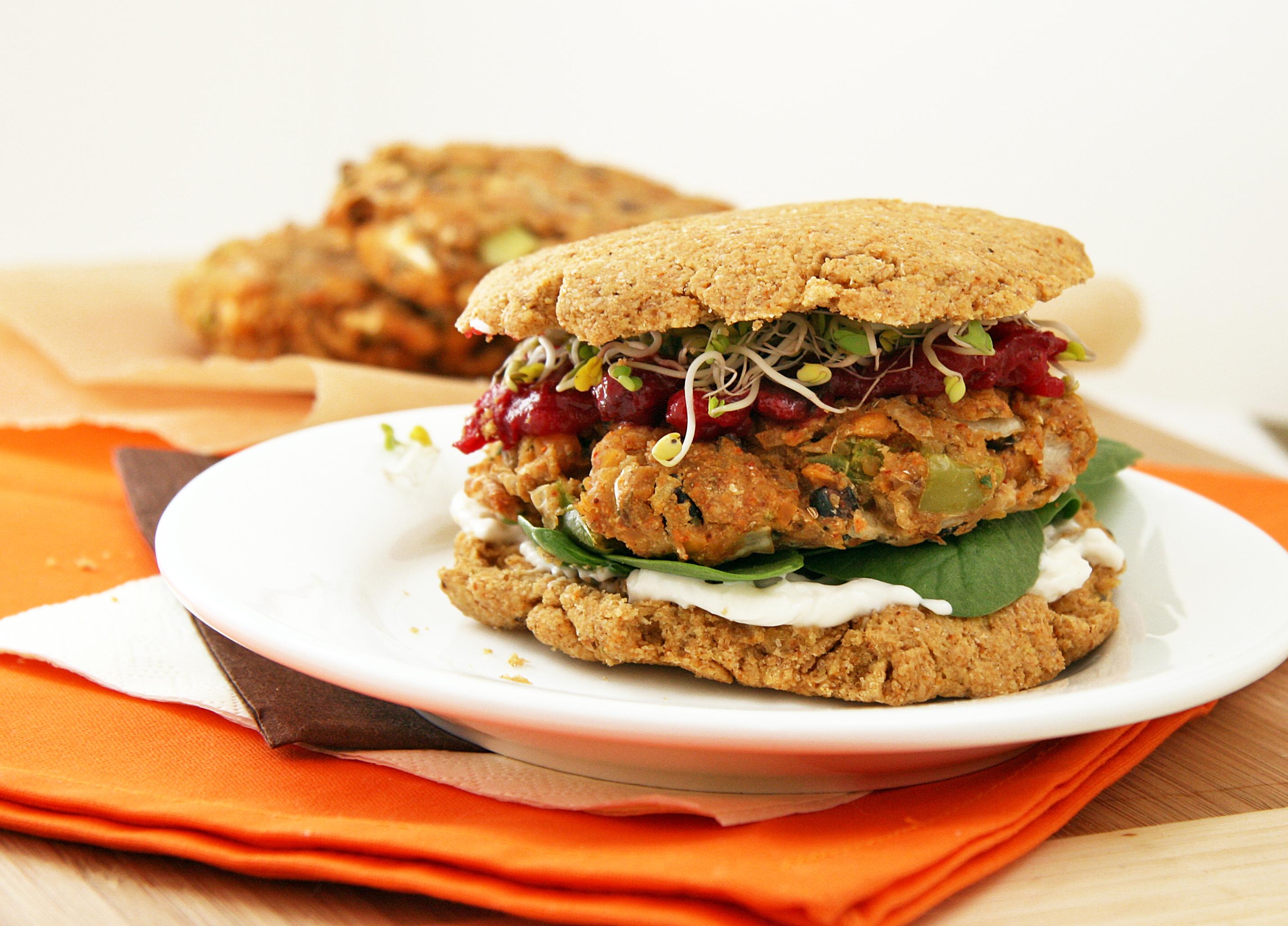 Veggie Burgers Recipe — Dishmaps