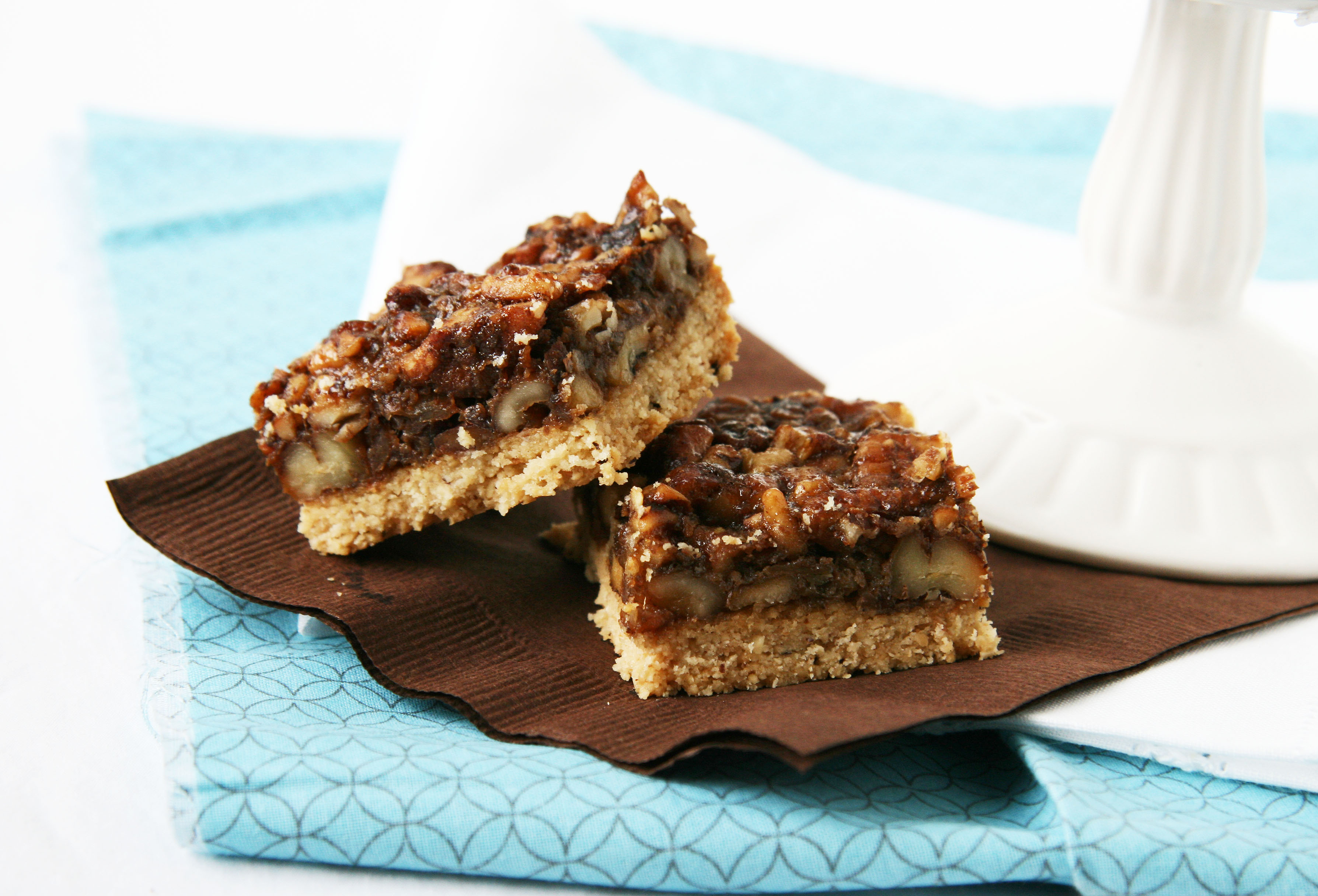 Maple Pecan Pie Bars (vegan) (slightly adapted from Without Adornment ...