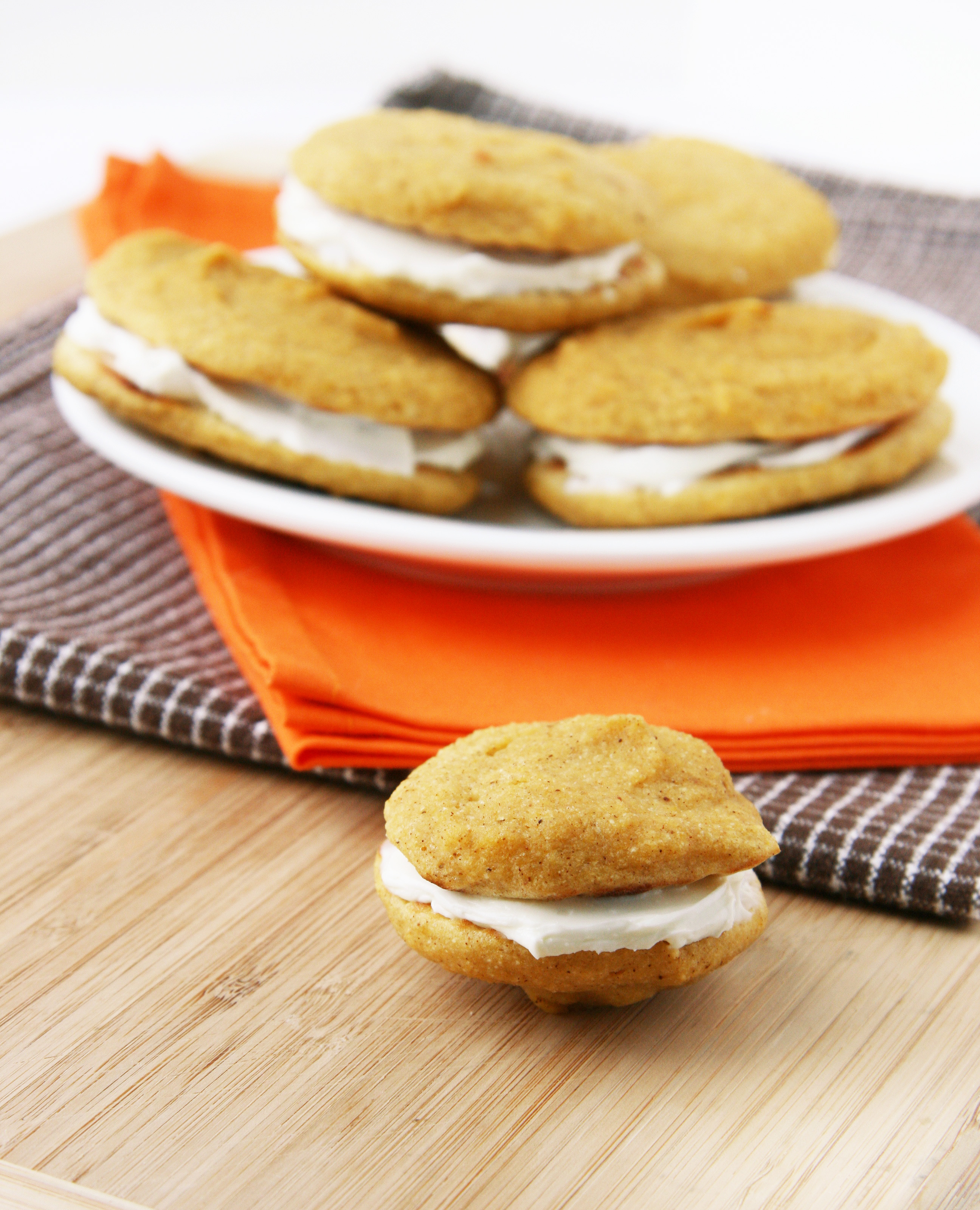 Butternut Whoopie Pies with Goat Cream Cheese Filling | Natural ...
