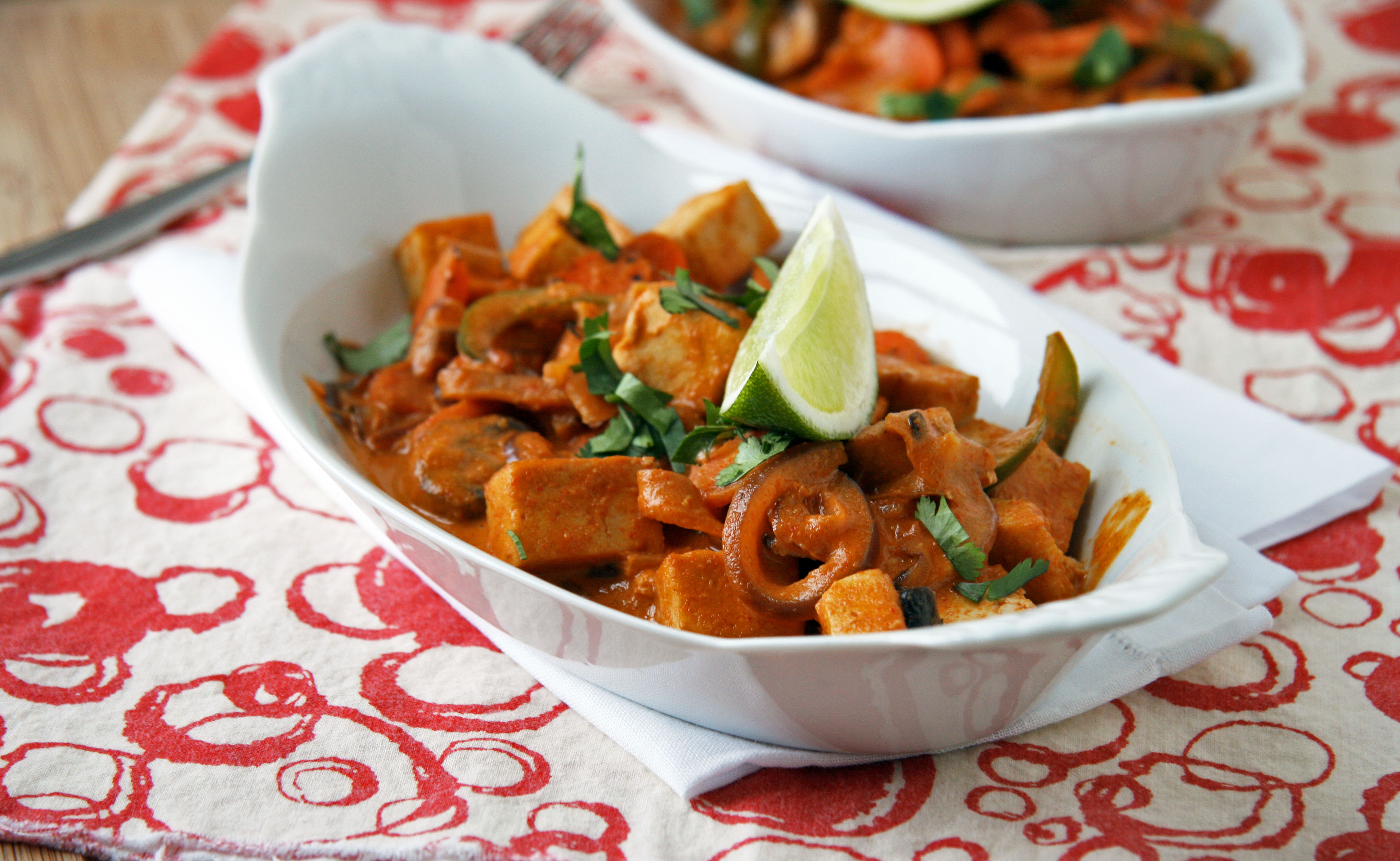 Red Thai Tofu Curry (SRC) (inspired by Red Thai Duck Curry )