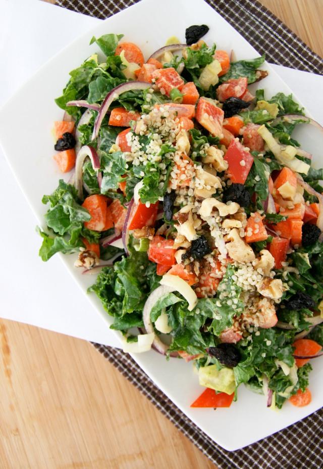 veggie chop salad 2
