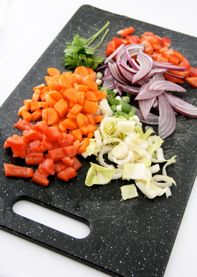 veggie chop salad ingredients