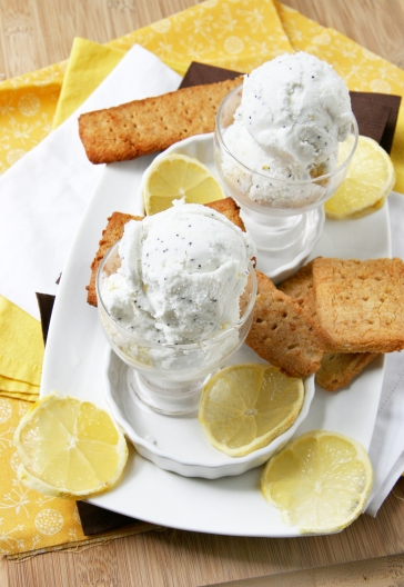 lemon poppyseed ice cream