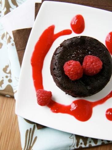 gooey hazelnut cake 1