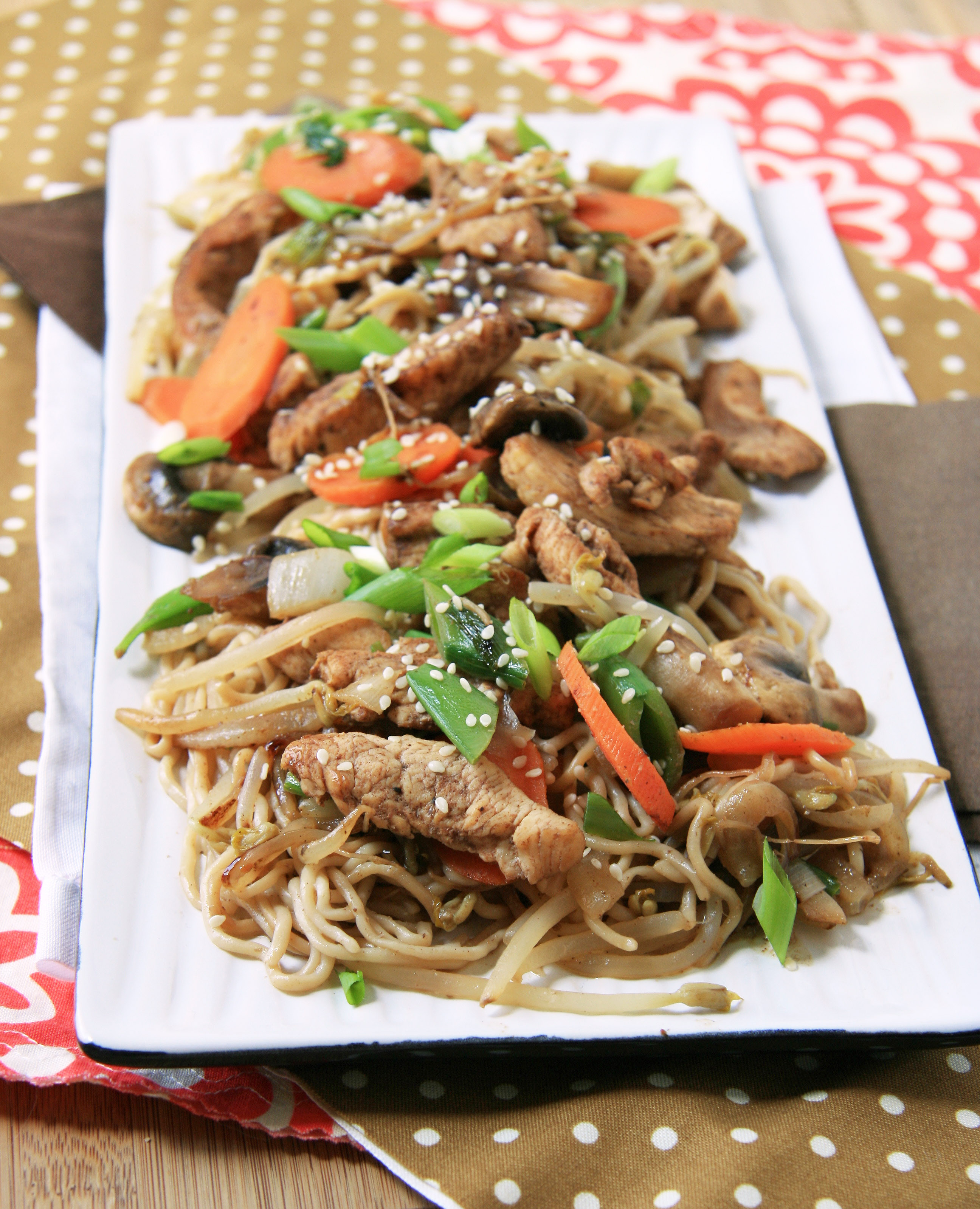 Easy Chicken Lo-Mein (SRC) | Natural Noshing