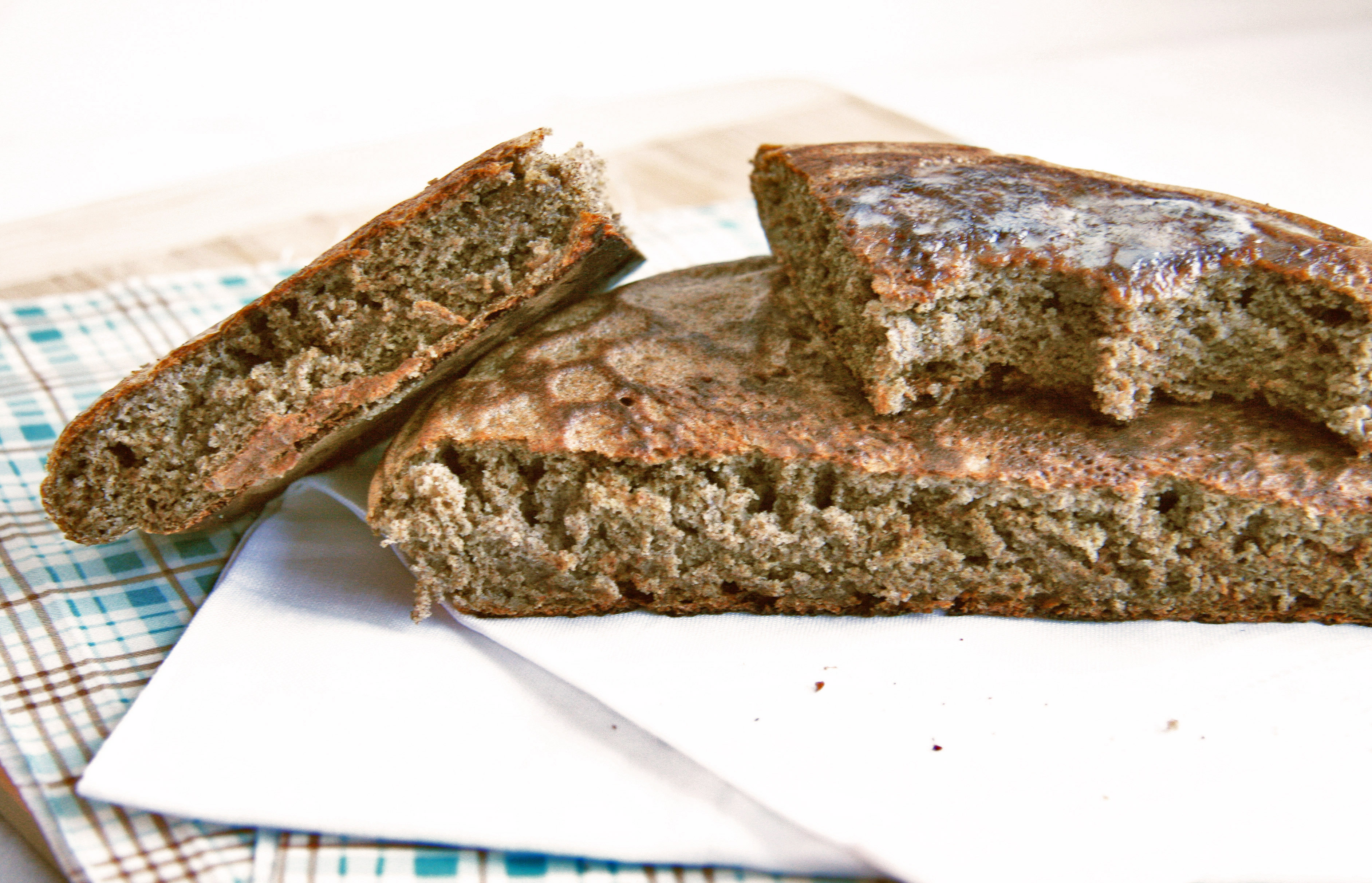 Quick Quinoa-Buckwheat Skillet Bread (recipe from 84th and 3rd )