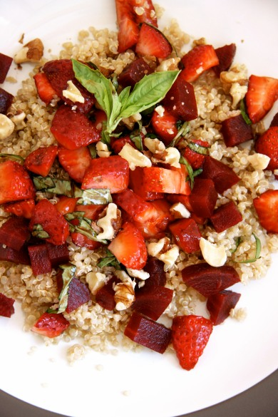 strawberry bruschetta quinoa2