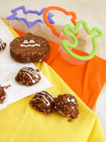 Halloween no bake cookies 1