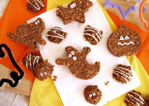 Halloween no bake cookies 2