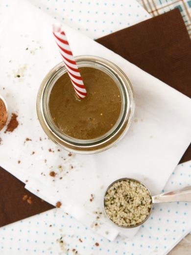 hemp cacao smoothie 3