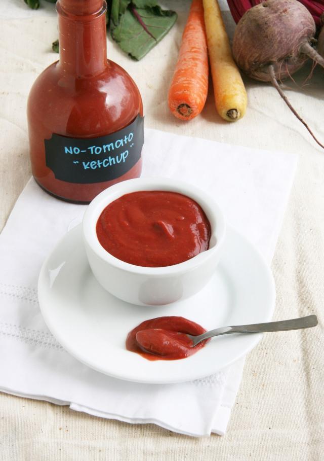 no tomato ketchup