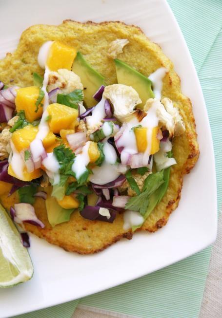 cauliflower tacos mango salsa 3