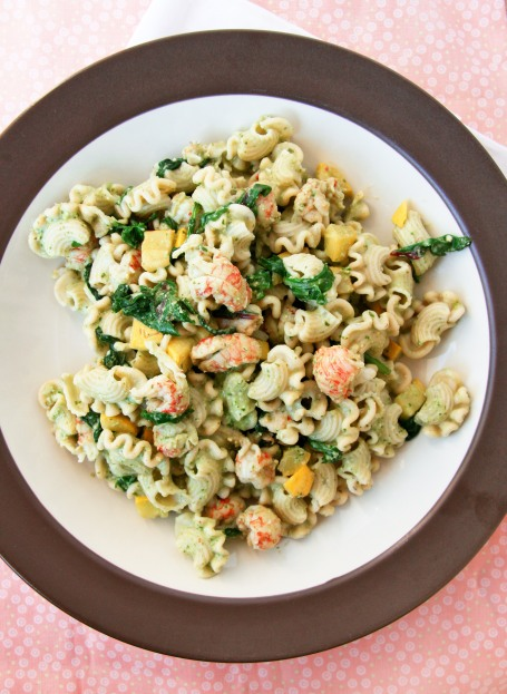lobster garlic pasta salad