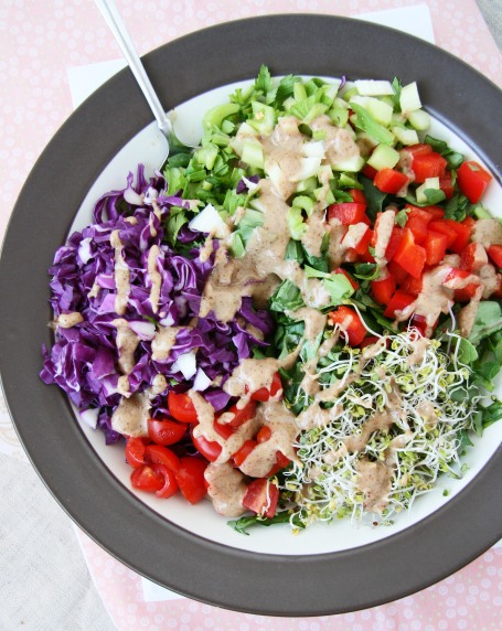 ABC cabbage salad 1