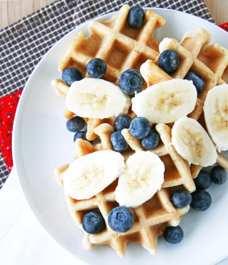 Grain-free waffles 1