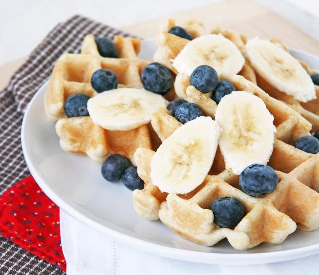 Grain-free waffles 2