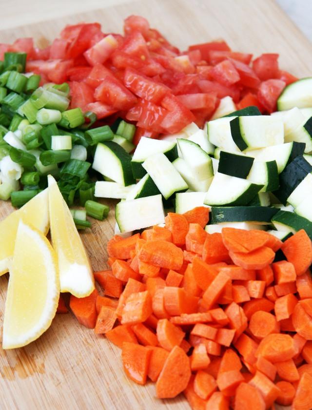 farmers market skillet veg